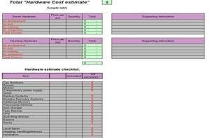 Plantilla Excel control gastos obra