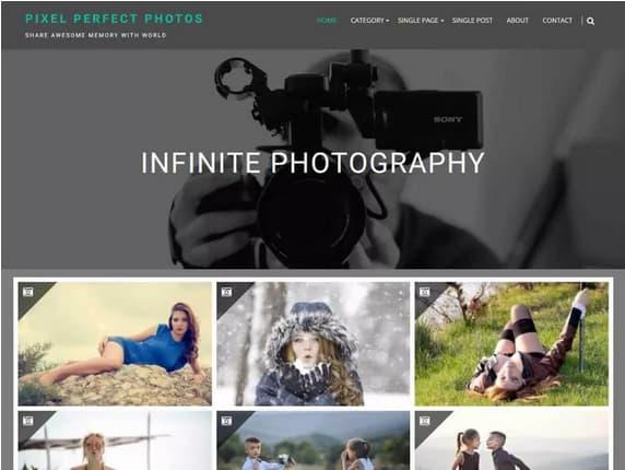 plantilla wordpress para fotografos