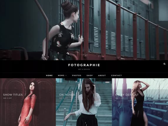 wordpress thema fotografos