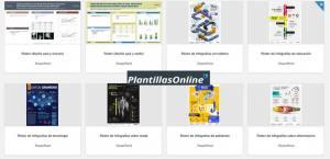 plantilla posters word